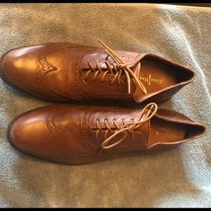 Cole Haan leather wingtips